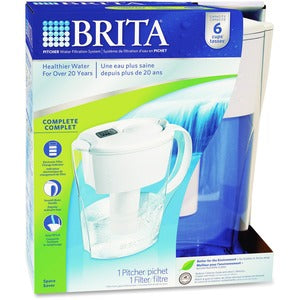 Brita Water Filtration System 6-cup Pitcher