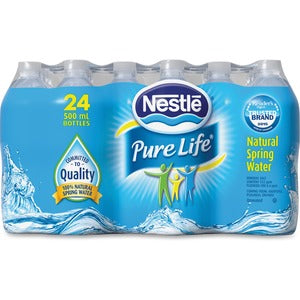 Nestle Pure Life Natural Spring Water (Carton of 24)