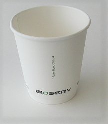 10oz Double Wall AG Bioserv Hot Cup (Case of 500)