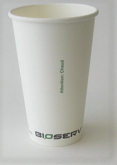 16oz Bioserv Hot Cup (Case of 1000)