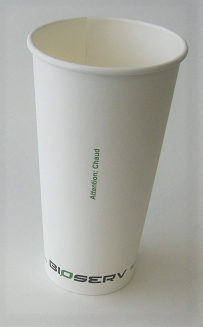 20oz Bioserv Hot Cup (Case of 1000)