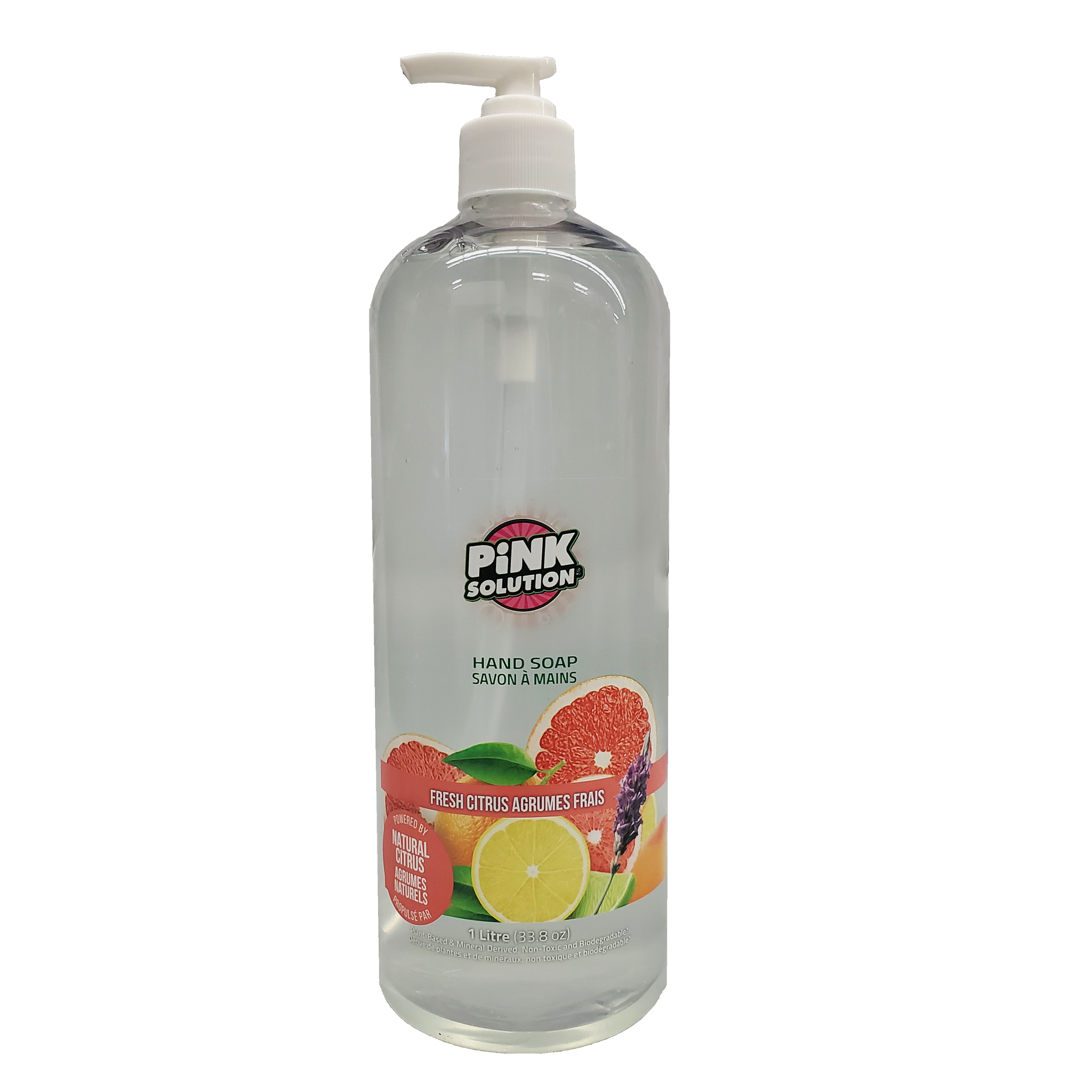 Hand Soap - FRESH CITRUS - (Pack of 12 x 1L) (In Stock)