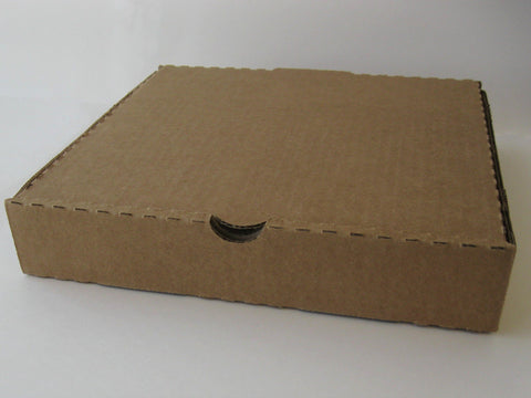"Kraft Pizza Box 14x14x1.75"" Plain (Bundle of 50)"