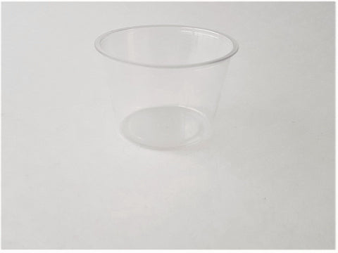 4 oz PLA Portion Cup Clear (Case of 2,000)