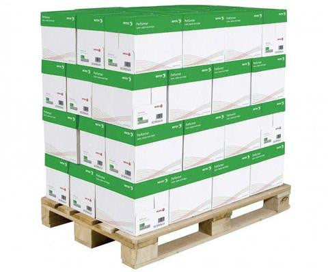 100% Recycled Copy Paper - Pallet - Alma Eco (Pallet of 40 Cartons - 10 Reams Each)