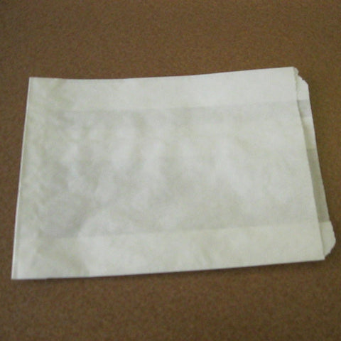 "Sandwich/Pastry  Bag Paper 6"" x .75"" x 6.75"" (Case of 1000)"