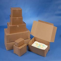 "Kraft Box 25 7/8"" x 18 3/8"" x 3 7/8"" (Bundle of 25)"