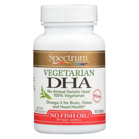 Spectrum Essentials Vegetarian DHA - 90 Softgels
