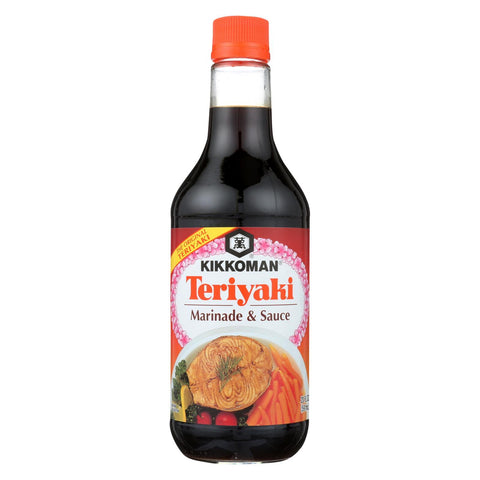 Kikkoman Teriyaki Marinade and Sauce - 20 Fl oz.