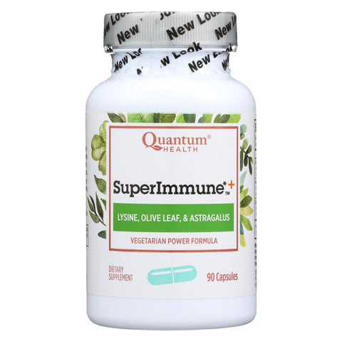 Quantum Superimmune Plus Power Formula - 90 Vegetarian Capsules