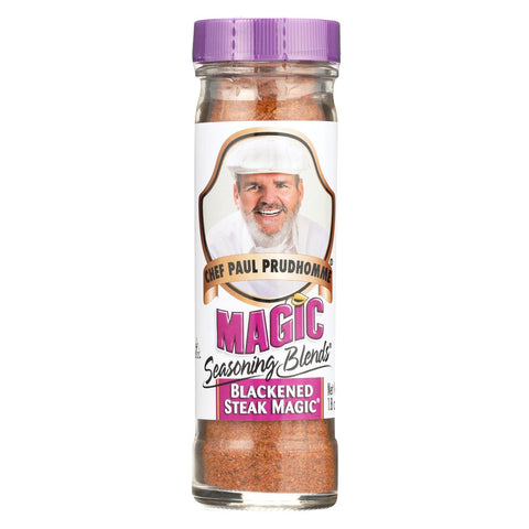 Magic Seasonings Chef Paul Prudhommes Magic Seasoning Blends - Blackened Steak Magic - 1.8 oz - Case of 6