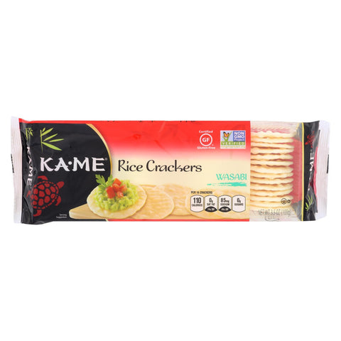 KaMe Rice Crackers - Wasabi - 3.5 oz - 1 each