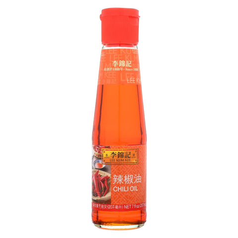 Lee Kum Kee Oil - Chili Oil - Case of 12 - 7 oz.