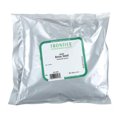Frontier Herb Anise Seed - Whole - Bulk - 1 lb