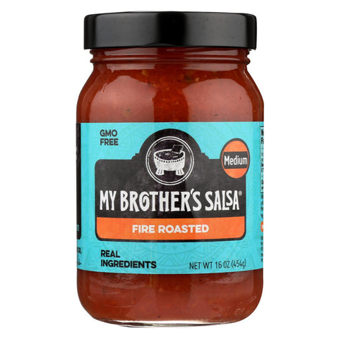 My Brother's Salsa Salsa - Fire Roasted - Medium - Case of 6 - 16 oz