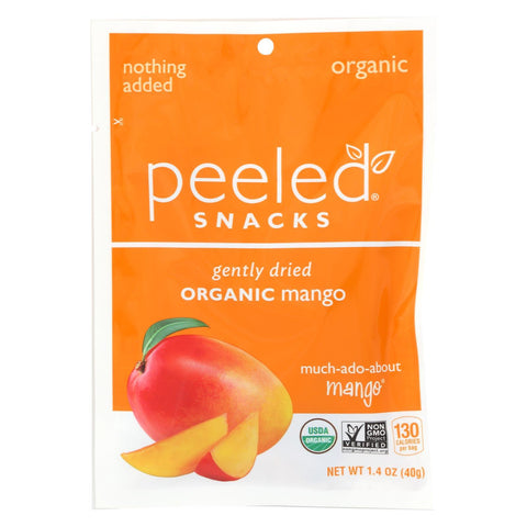 Peeled Snacks Dried Fruit - Organic - Much-Ado-About-Mango - 1.4 oz - case of 10