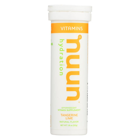 Nuun Vitamins Drink Tab - Tangerine - Lime - Case of 8 - 12 TAB