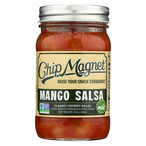 Chip Magnet Salsa Sauce Appeal Salsa - Mango - Case of 6 - 16 oz