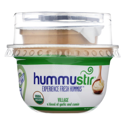 Hummustir Hummus - A Blend Of Garlic And Cumin - Case of 6 - 7 oz.