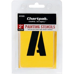 Chartpak Painting Letters/Numbers Stencils (Set of 1)