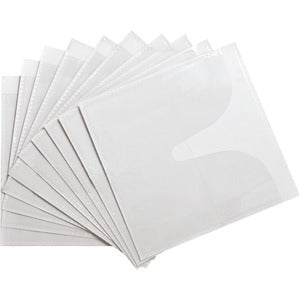 Compucessory Self-Adhesive Poly CD/DVD Holders (Pack of 5)
