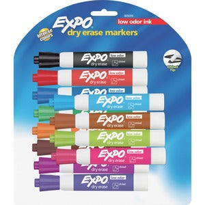 Expo Dry Erase Chisel Point Marker (Set of 12)