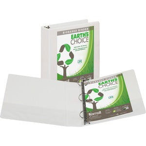 "Samsill Earth's Choice Round View Binders - 2"" Ring - 450 Sheet Capacity"