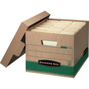 Fellowes Bankers Box Medium Ltr/Lgl Storage Boxes (Pack of 12)