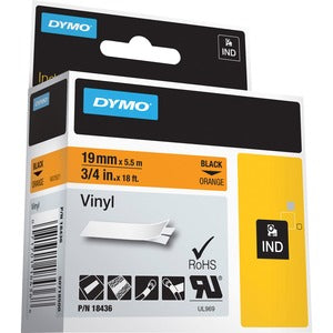 Dymo Colored Industrial Rhino Vinyl Labels