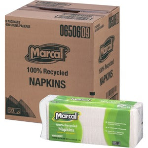 Marcal Everyday 1 Ply Napkins (Pack of 400)
