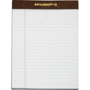 SKILCRAFT Perforated Writing Pad (Pack of 12)