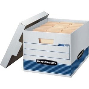 Fellowes Bankers Box Quick/Stor Storage Boxes (Pack of 4)