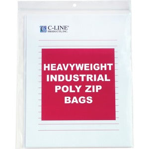 C-Line Heavyweight Industrial Zip Bag (Box of  )
