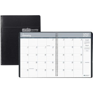 Doolittle Wirebound Monthly Planner