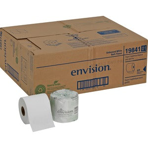 Georgia-Pacific Envision 1-Ply Bath Tissue Rolls (Carton of 4 Rolls)