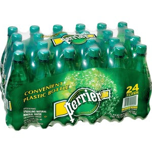 Perrier Mineral Water (Carton of 24 Bottles)