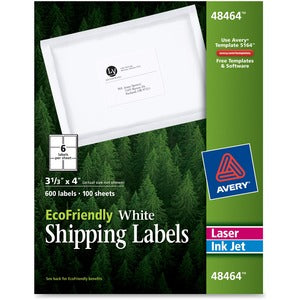 Avery Eco-friendly Mailing Labels (Box of 5)
