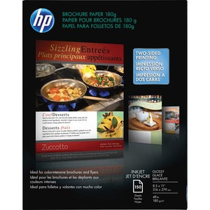 HP Brochure/Flyer Paper (Pack of 15 Sheets)