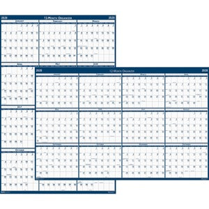 Doolittle Write-on Laminated Wall Planners