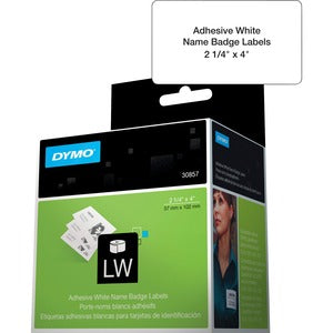 Dymo LabelWriter Adhesive Name Badges (Roll of 25)