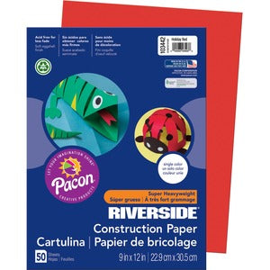 Pacon Acid Free Construction Paper (Pack of 50)