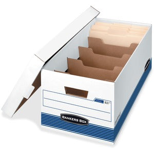 Fellowes Extra-strength Divider Storage Box (Pack of 12)