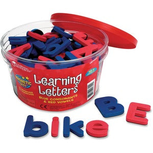 Learning Resources Magnetic Learning Letters (Set of  )