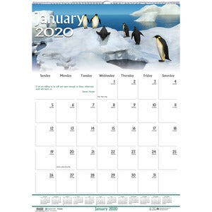 Doolittle Earthscapes Wildlife Midsz Wall Calendar