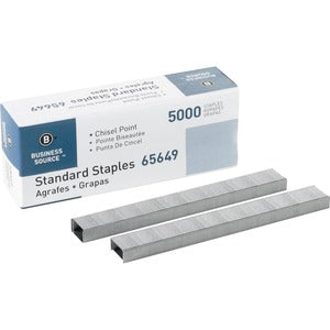 Business Source Chisel Point Standard Staples (DEFAULT)