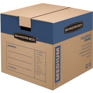 Fellowes Bankers Box FastFold Moving/Storage Boxes (Pack of 8)