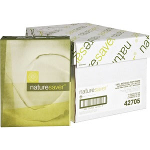 100% Recycled Copy Paper - Nature Saver (5000 sheets)