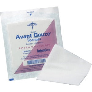 Medline Avant Nonsterile Gauze Nonwoven Sponges (Box of 2)
