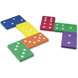 Learning Resources Foam Jumbo Dominoes (Set of 28)