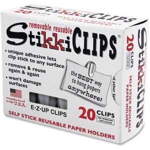Advantus StikkiClips Adhesive Clips (Pack of 2)